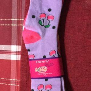 NWT 3 pair knee socks!